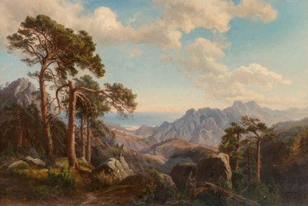 65107: Carl Maria Nicolaus Hummel (German, 1821-1907) M