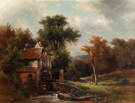 65109: Friedrich Wilhelm Schreiner (German, 1836-1936)
