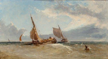 65116: James Edwin Meadows (British, 1828-1888) An Appr