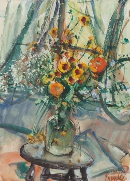 65229: Sigmund Joseph Menkes (American, 1896-1986) Stil