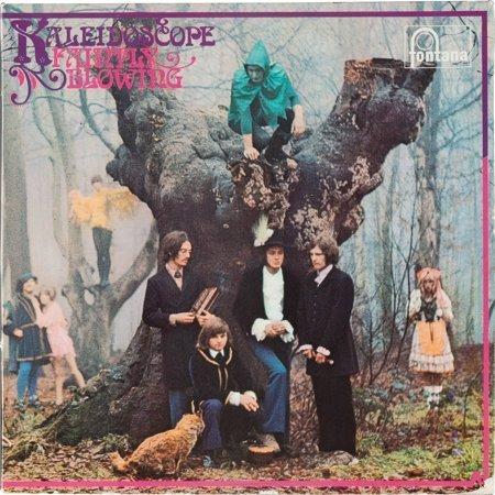 89569: Kaleidoscope Faintly Blowing Mono LP (UK - Fonta