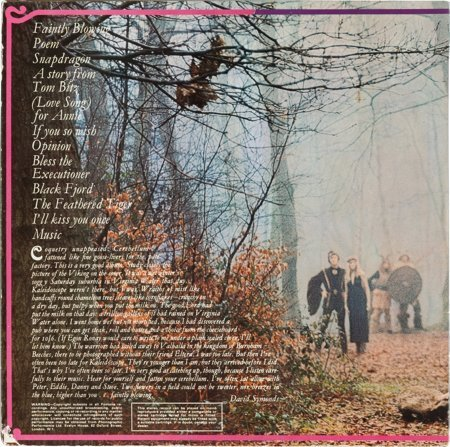 89569: Kaleidoscope Faintly Blowing Mono LP (UK - Fonta - 2