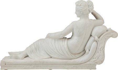 61246: A Marble Sculpture after Antonio Canova: Pauline - 2