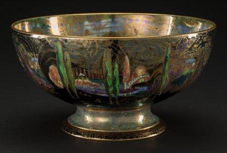 61005: A Wedgwood Fairyland Lustre Porcelain Poplar Tre