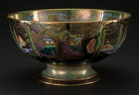 61005: A Wedgwood Fairyland Lustre Porcelain Poplar Tre - 2
