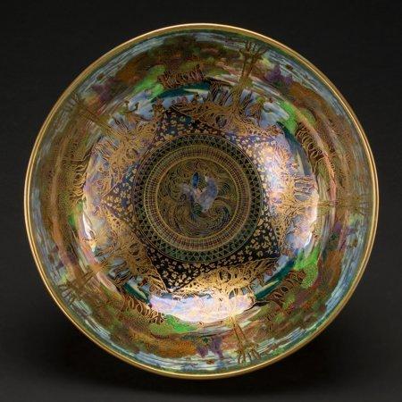 61005: A Wedgwood Fairyland Lustre Porcelain Poplar Tre - 4
