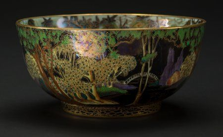 A Wedgwood Fairyland Lustre Porcelain Fairy with