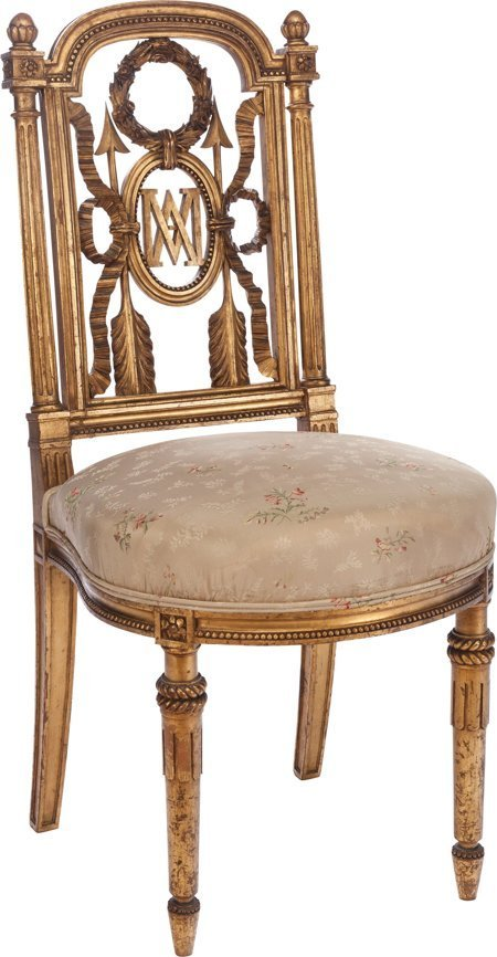 61178: A Louis XVI-Style Marie Antoinette Parcel Giltwo