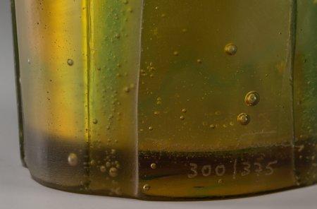 61352: A Large Daum Green and Blue Pate-de-Verre Glass  - 3