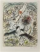 61614: Marc Chagall (French/Russian, 1887-1985) Le Ciel