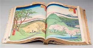 61476: Ando Hiroshige (Japanese, 1797-1858) One Hundred