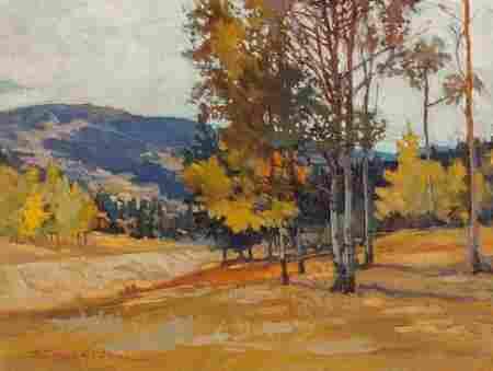 Robert Daughters (American, b. 1929) Near Eagle'