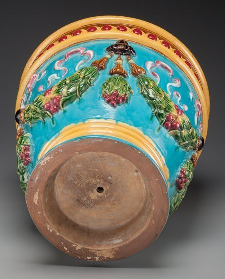 61786: A Large Zsolnay Polychromed Majolica Planter, 20 - 3
