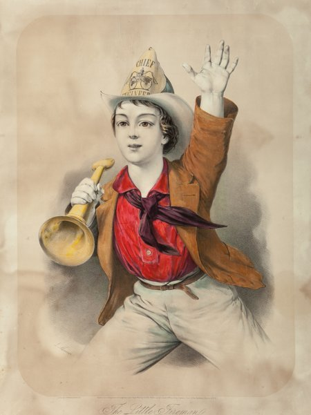 62073: Louis Maurer (American, 1832-1932) The Little Fi