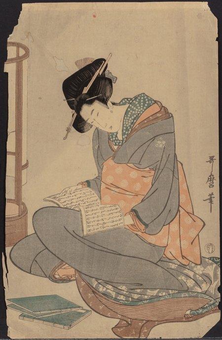 61920: Group of Five Woodblock Prints Japanese School   - 7