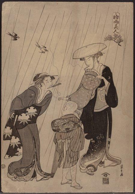 61920: Group of Five Woodblock Prints Japanese School   - 8