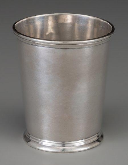 61850: An R & W Wilson Coin Silver Mint Julep Cup, Phil