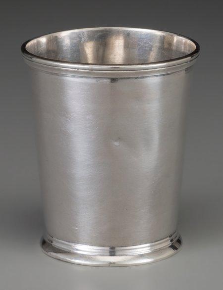 61850: An R & W Wilson Coin Silver Mint Julep Cup, Phil - 2