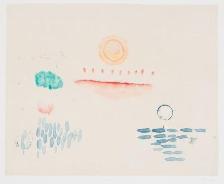 62135: Pat Steir (American, b. 1938) Kweilin Dreaming 7