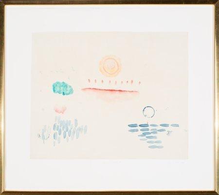 62135: Pat Steir (American, b. 1938) Kweilin Dreaming 7 - 2