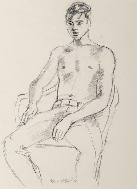 62137: Bror Utter (American, 1913-1993) Set of Three Po