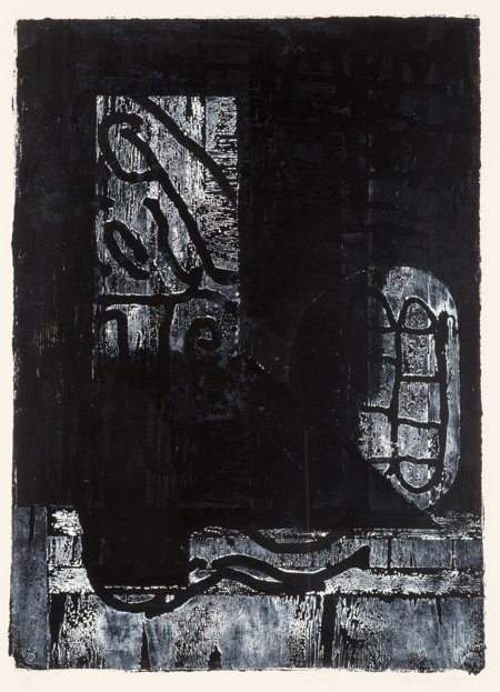 62141: John Walker (British, b. 1939) Memory V, 1989 Wo