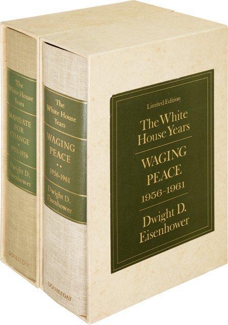 45008: Dwight D. Eisenhower. The White House Years. Gar