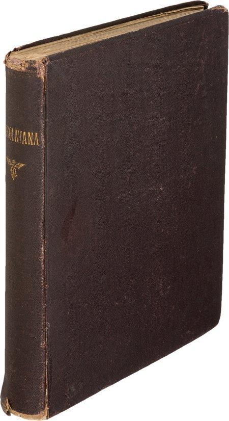 45014: [Abraham Lincoln, subject]. Lincolniana. In Memo