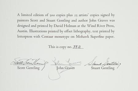 45079: Scott and Stuart Gentling. Of Birds and Texas. F - 3