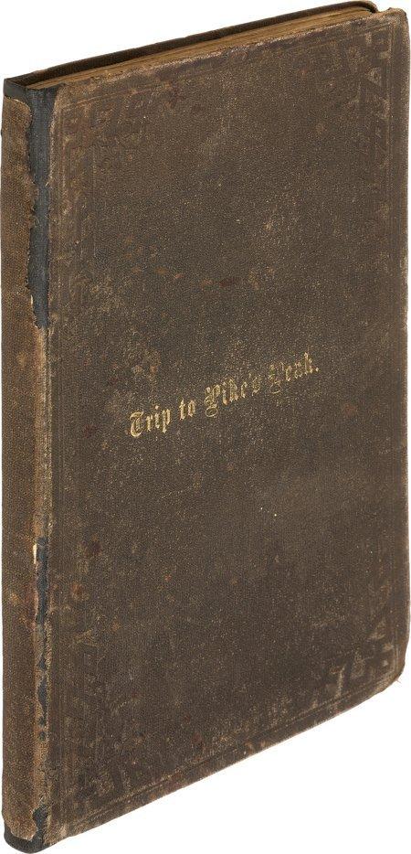 45022: C[harles]. M. Clark. A Trip to Pike's Peak and N