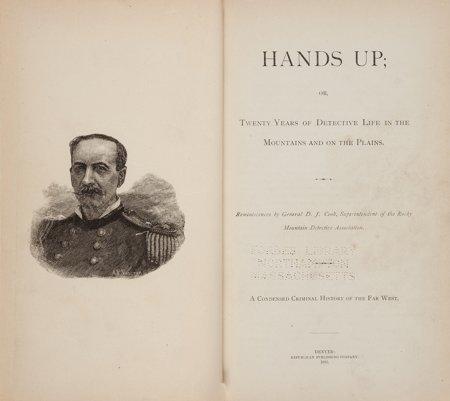 45024: D[avid]. J. Cook. Hands Up; or, Twenty Years of