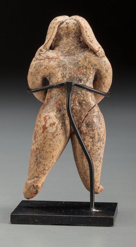 70006: Olmec, Las Bocas, Mexico  Standing Female Figure - 2