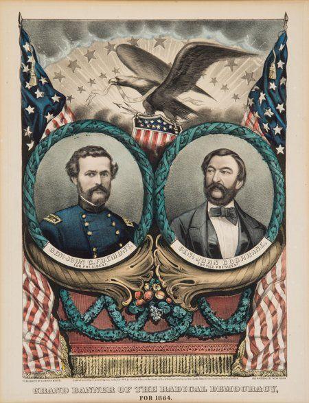 43183: Frémont & Cochrane: Grand National Banner. Curri
