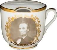 43145 Abraham Lincoln Marshall Engraving Porcelain Mo