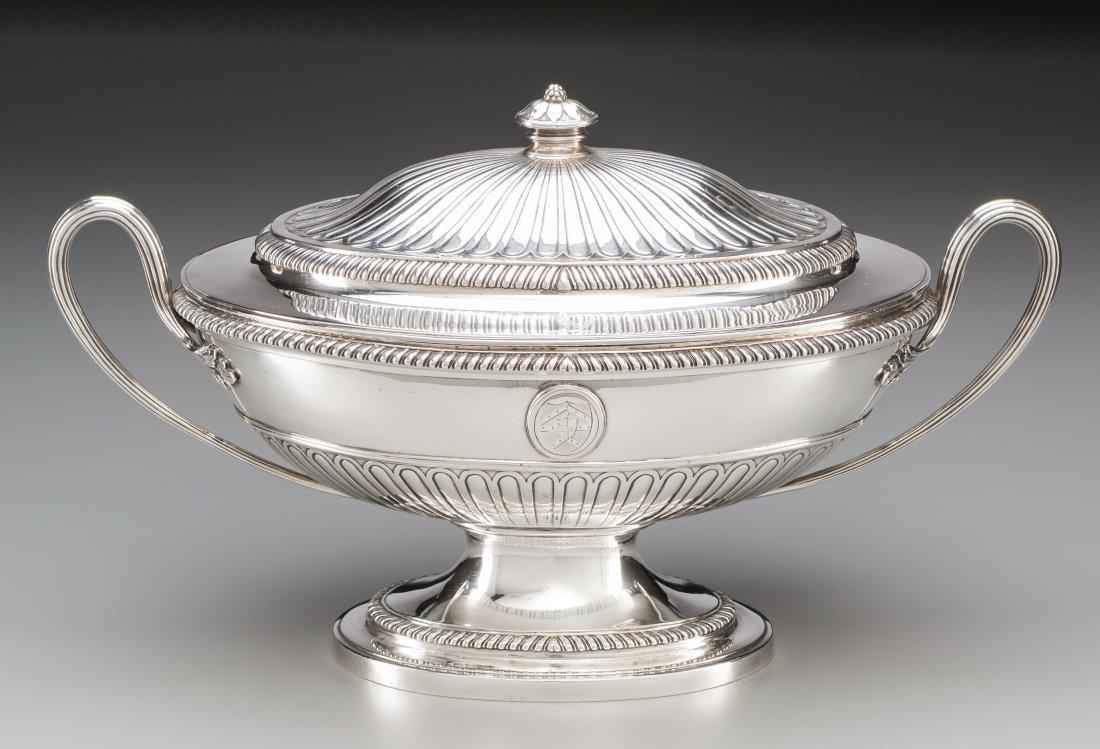 74010: A Thomas Heming George III Silver Covered Tureen