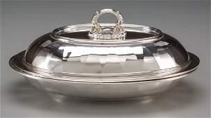 74045 A Tiffany  Co Saint Dunstan Pattern Silver Cov
