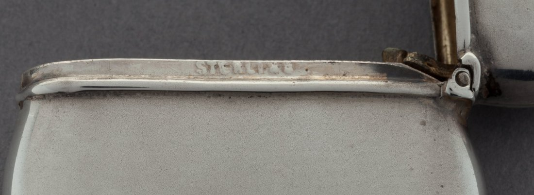 74453: An American Partial Gilt Silver Match Safe with  - 3