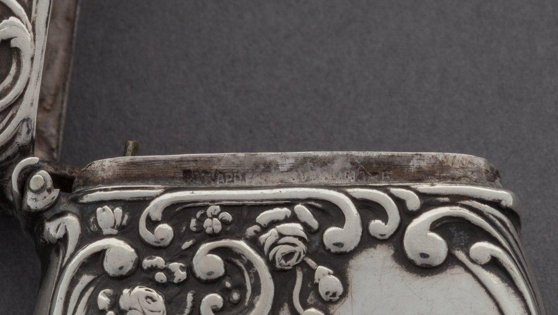 74465: A Fairchild Silver Match Safe and Plaster Cast,  - 3