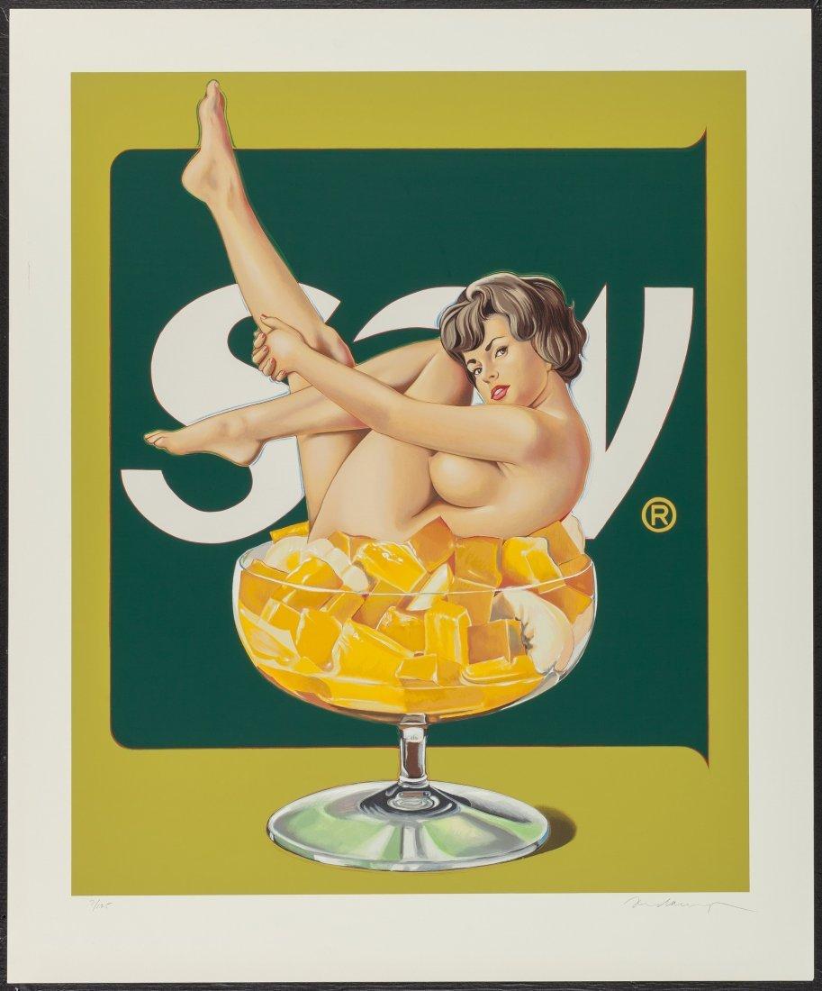 77178: Mel Ramos (b. 1935) Miss Fruit Salad, 1990 Scree - 2