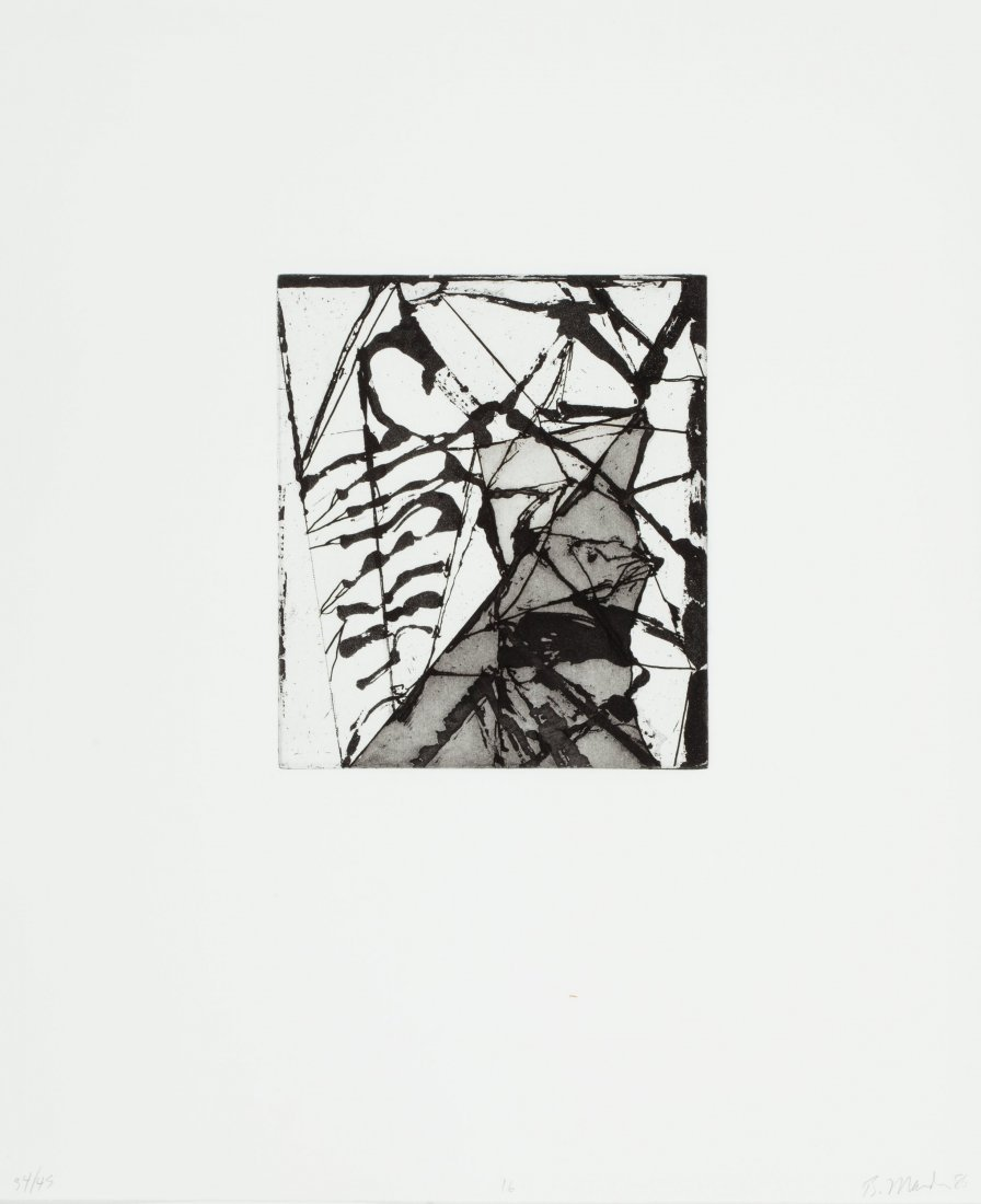 77126: Brice Marden (b. 1938) Etchings to Rexroth, 16,