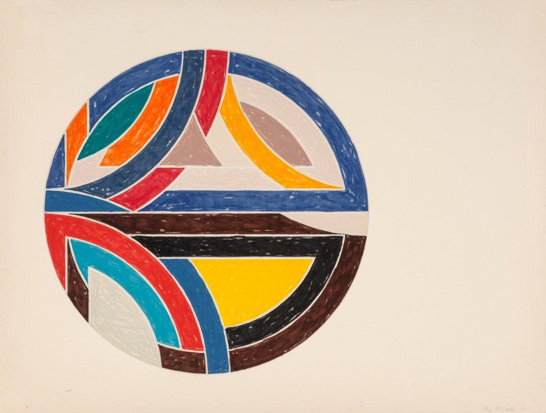 77189: Frank Stella (b. 1936) Singerli Variation III, f