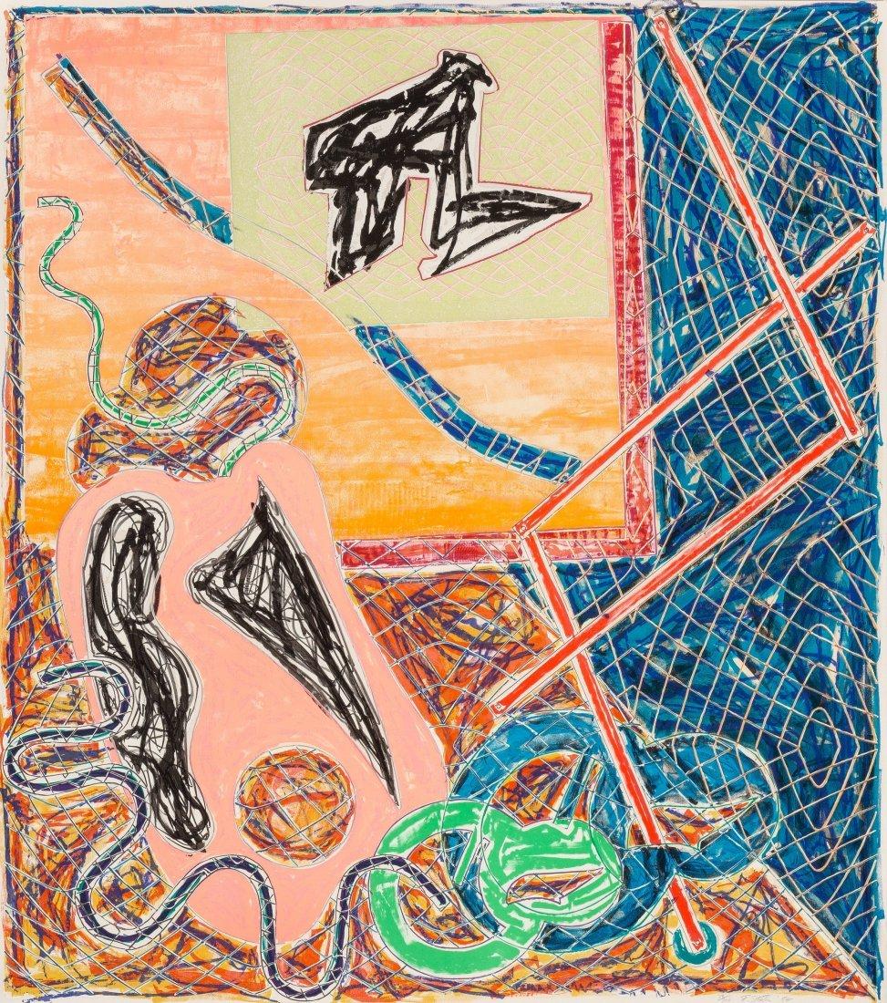 77192: Frank Stella (b. 1936) Shards I, 1988 Offset lit