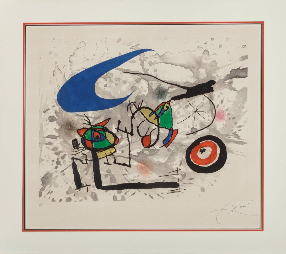 77139: Joan Miró (1893-1983) Pygmées sous la lune, 1972 - 2