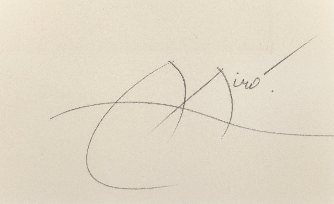 77139: Joan Miró (1893-1983) Pygmées sous la lune, 1972 - 3
