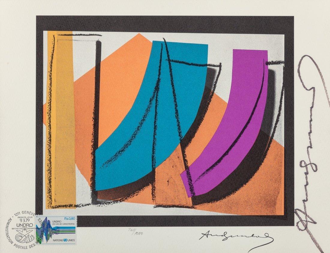 77208: Andy Warhol (1928-1987) U.N. Stamp, 1979 Offset