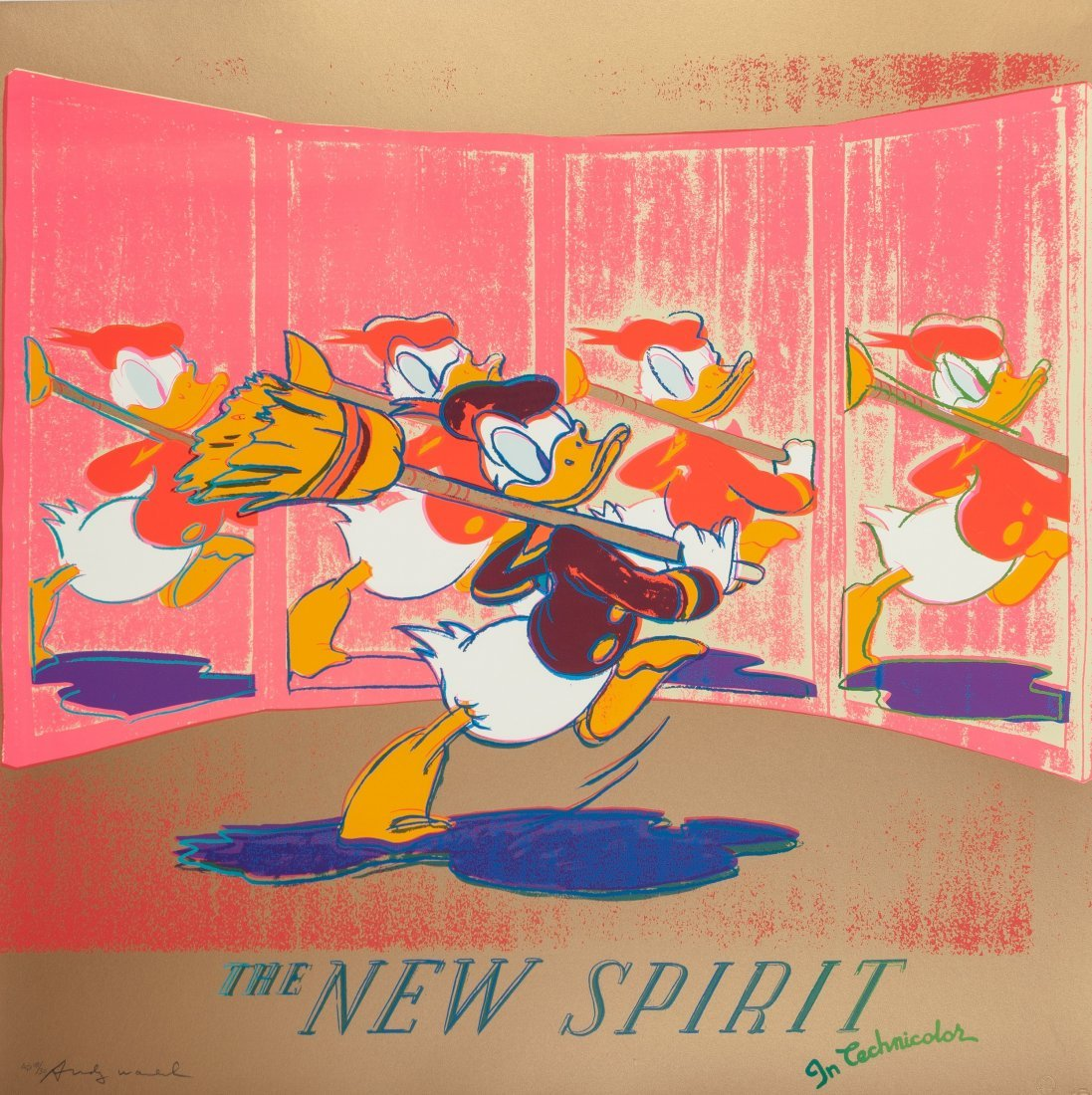 77211: Andy Warhol (1928-1987) The New Spirit (Donald D