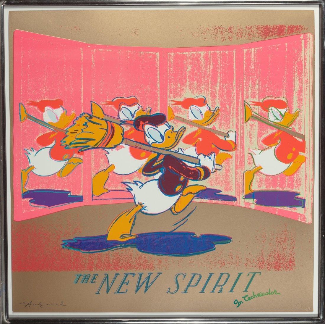 77211: Andy Warhol (1928-1987) The New Spirit (Donald D - 3