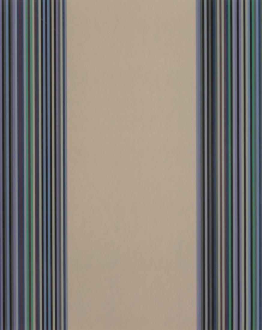 77036: Gene Davis (1920-1985) Untitled, 1980 Screenprin
