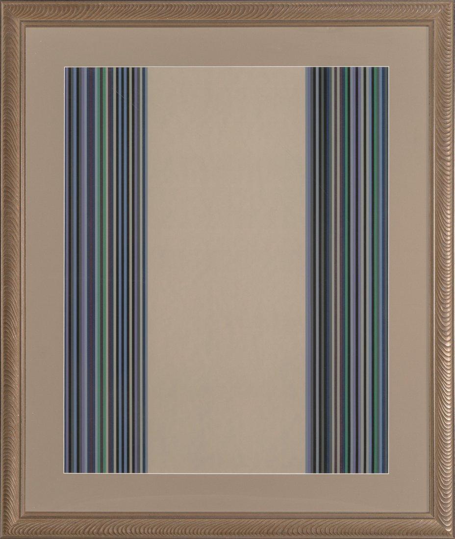 77036: Gene Davis (1920-1985) Untitled, 1980 Screenprin - 2