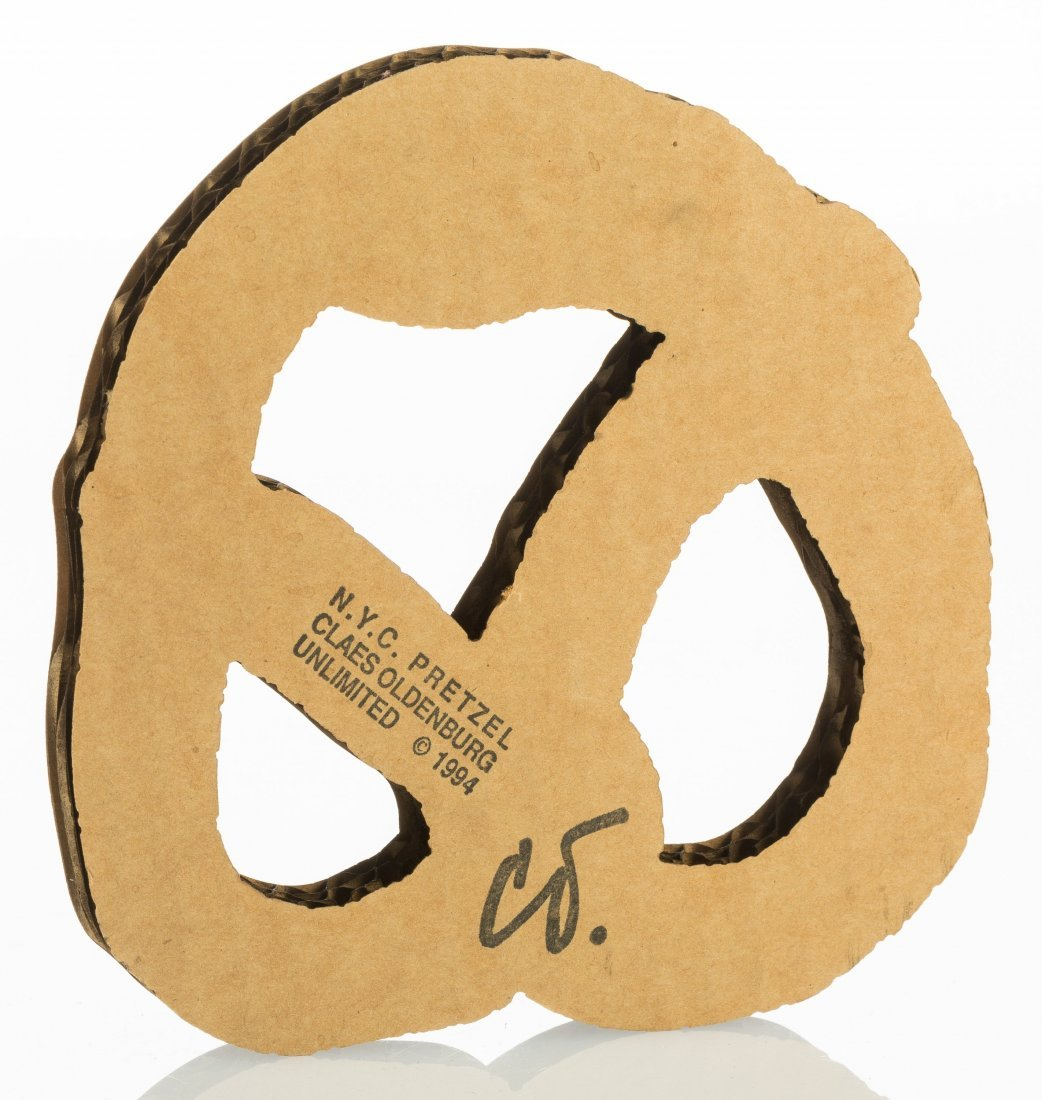 77155: Claes Oldenburg (b. 1929) N.Y.C. Pretzel, 1994 S - 2